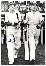 BRADMAN DON: (1908-2001) Australian Cricketer.
