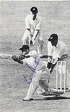 CRICKET: Selection of signed postcard photographs