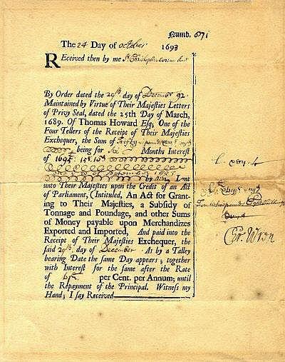 AUTOGRAPHS: WREN CHRISTOPHER: (1632-1723) English