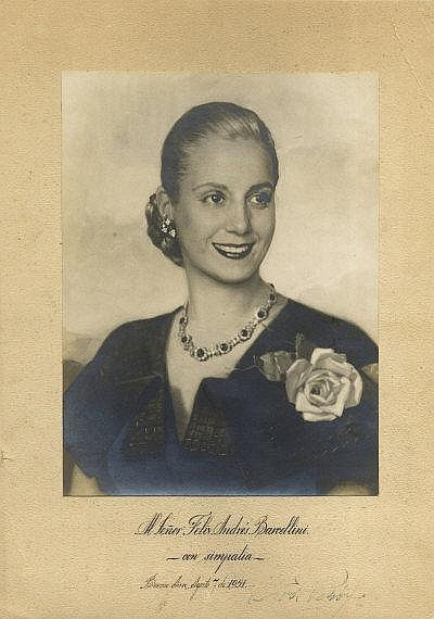 an overview of the deeds by eva peron the lady of hope from argentina Eva peron (mezzo): lead the hysterical grief that gripped argentina when evita died organize rallies where the people show their support and hope for a better.