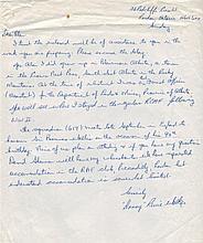 WALKER DANNY: (1917-2001) Canadian Flying Officer, Navigator of Lancaster ED929/
