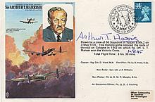 DAMBUSTERS THE: A multiple signed commemorative cover issued to commemorate the