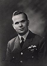 KNIGHTS ROBERT: (1921-2004) British Royal Air Force Flight Lieutenant, a bomber