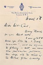 VON RINTELEN FRANZ: (1878-1949) German Naval Intelligence officer in the United