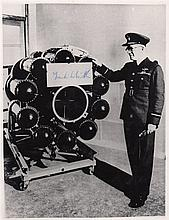 WHITTLE FRANK: (1907-1996) English Royal Air Force Officer, inventor of the jet