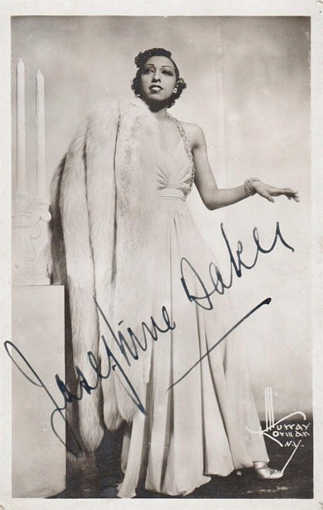 BAKER JOSEPHINE: (1906-1975) French Vedette, Singer & Entert