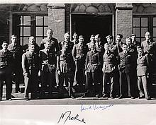DAMBUSTERS THE: Signed 10 x 8 photograph by both Harold Martin (1918-1988, Austr