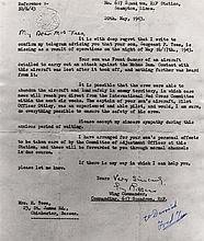 TEES FREDERICK: (1922-1982) British Royal Air Force officer, a member of 617 Squ