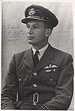 RICE GEOFFREY: (1917-1981) British Royal Air Force Pilot officer, a member of 61