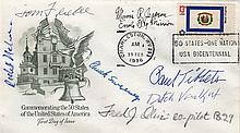 ATOMIC BOMB: A First Day Cover issued to commemorate the 50 States of the United