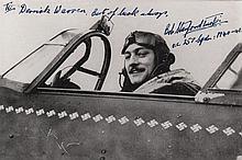 WORLD WAR II: Johnnie Johnson (1915-2001) British Air Vice Marshal and Flying Ac