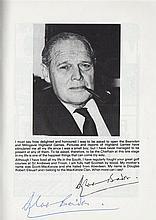 BADER DOUGLAS: (1910-1982) British World War II Ace (22.5 victories), recognized
