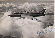 CAMM SYDNEY: (1893-1966) English Aeronautical Engineer and Aircraft Designer, fa