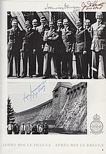 DAMBUSTERS THE: A printed 4to souvenir brochure for the 50th Anniversary Commemo