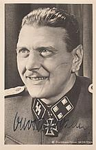 SKORZENY OTTO: (1908-1975) Austrian SS-Obersturmbannfuhrer of the German Waffen-