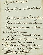 MOMORO ANTOINE-FRANÇOIS: (1756-1794) French Printer, Bookseller and Politic