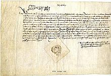 HENRY VIII: (1491-1547) King of England 1509-47.   A fine D.S., Hen