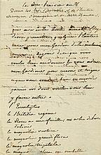 BEAUHARNAIS JOSEPHINE DE: (1763-1814) Empress of the French 1804-14, the fi