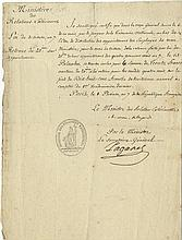 TALLEYRAND-PERIGORD CHARLES MAURICE DE: (1754-1838) French Statesman.