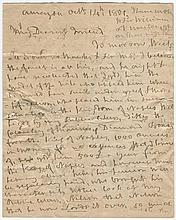 An unpublished letter of Nelson to  Lady Hamilton  'Ever my Dear Fr