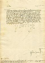 CHARLES V: (1500-1558) Holy Roman Emperor 1519-56, and King Charles I of Sp