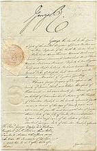 GEORGE IV: (1762-1830) King of the United Kingdom 1820-30.  A good