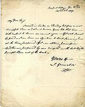 GRIMALDI JOSEPH: (1778-1837) English Actor, Comedian & Dancer, the most pop
