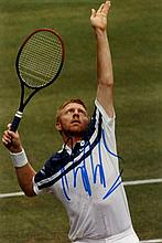 TENNIS: Selection of signed 5 x 7 photographs and