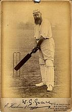 GRACE W. G.: (1848-1915) English Cricketer. A good