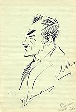 MAILEY ARTHUR: (1886-1967) Australian Cricketer. A