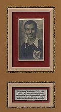 MATTHEWS STANLEY: (1915-2000) English Footballer,