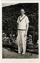 BOROTRA JEAN: (1898-1994) French Tennis Player,