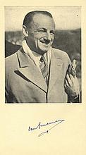BRADMAN DON: (1908-2001) Australian Cricketer.