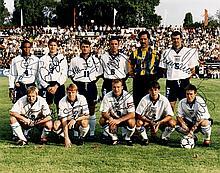 ENGLAND FOOTBALL: A good signed colour 10 x 8