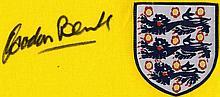 ENGLAND FOOTBALL: Two replica red souvenir England