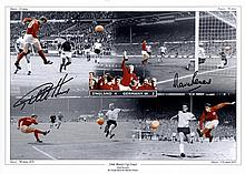 ENGLAND FOOTBALL: Small selection of signed colour