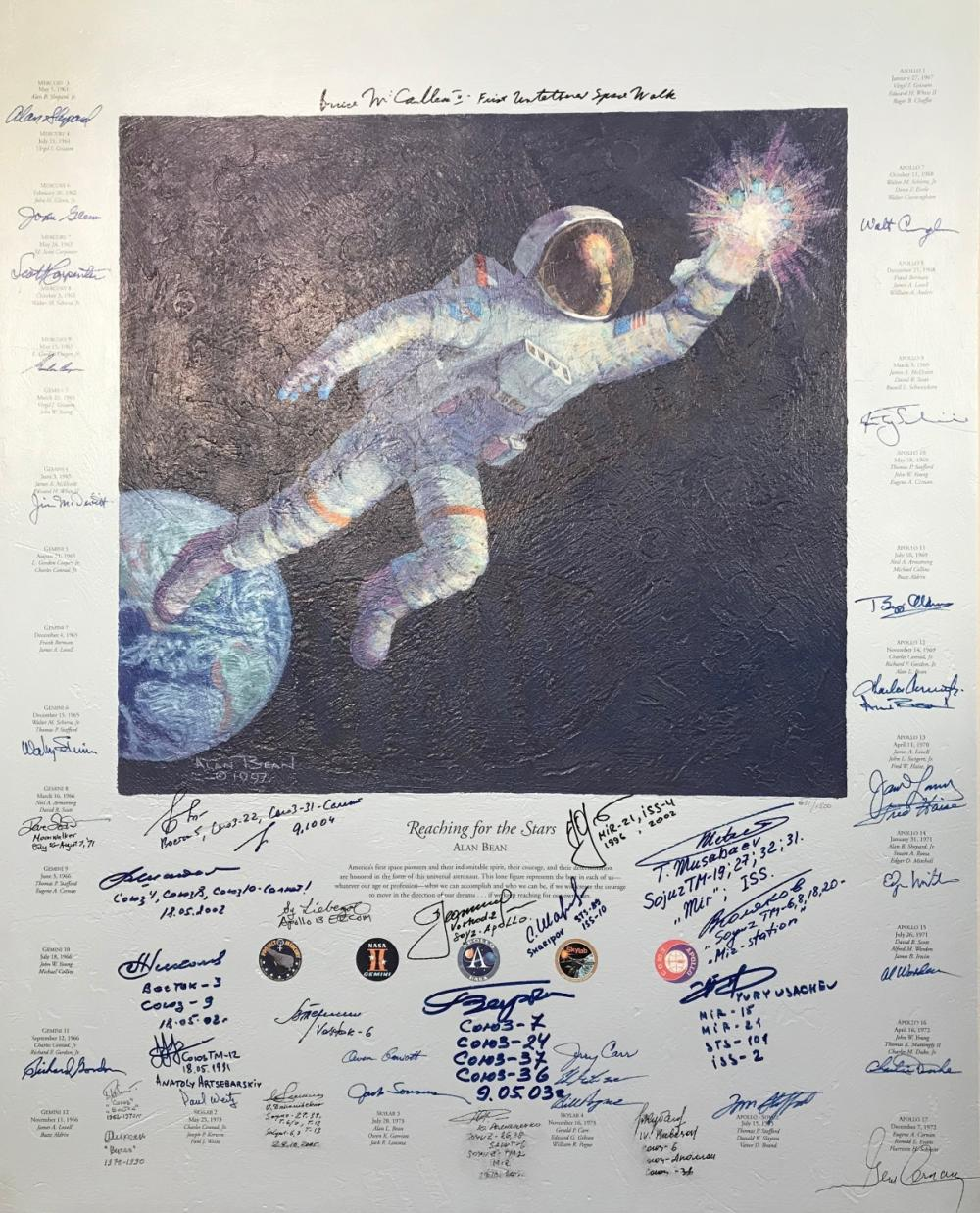 astronaut reaching for the stars - HD1000×1238