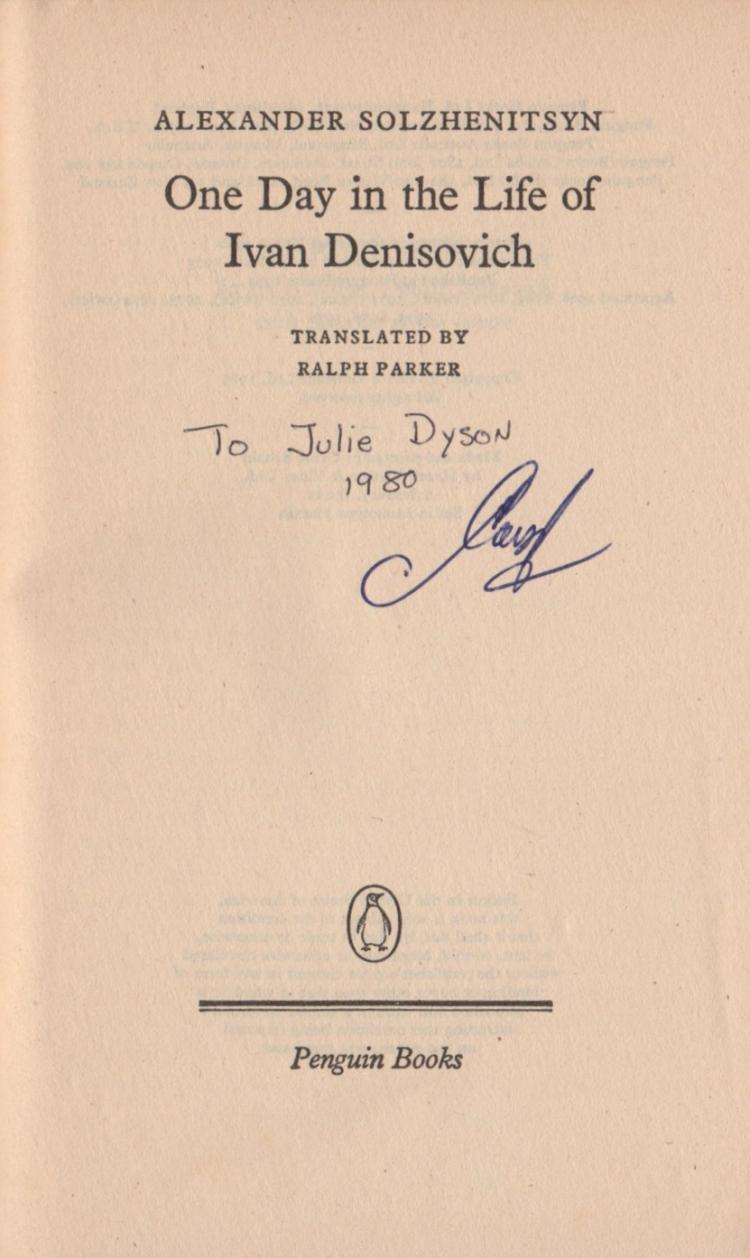 an analysis of the novel the one day in the life of ivan denisovich by aleksandr solzhenitsyn The paper utilizes solzhenitsyn's novel, one day in the life of ivan denisovich, to  portray the operation of organization structure at its least understood level as a.