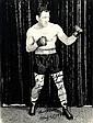 LESNEVICH GUS: (1915-1964) American Boxer, World