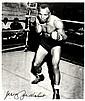 WALCOTT JERSEY JOE: (1914-1994) American Boxer,