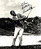 GOLF: Selection of signed postcard photographs and