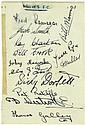 WOLVERHAMPTON WANDERERS F.C.: A 12mo card
