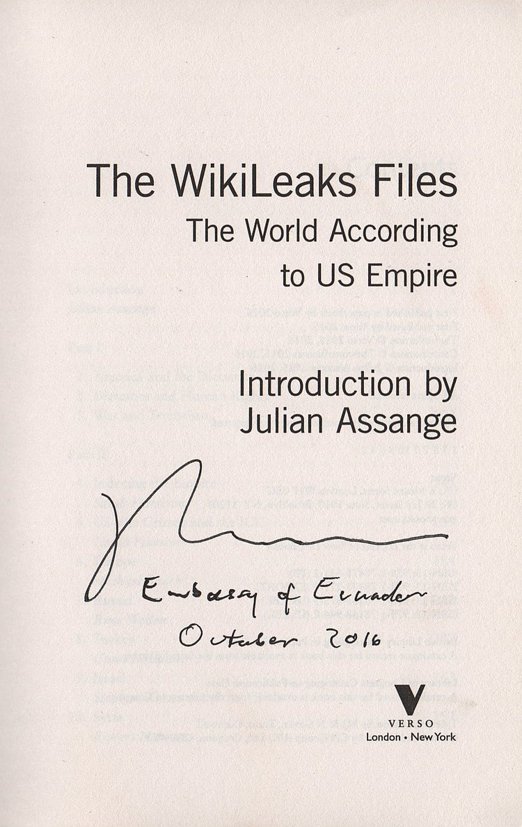 wikileaks introduction I am chelsea manning it's the simplest of statements, the most uncomplicated  of claims a name, an introduction, no more no less but when.