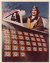 AMERICAN AVIATION: Selection of signed Air Mail covers, First Day Covers, signed clipped pieces, sig