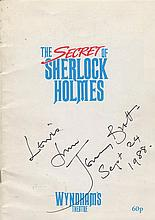 BRETT JEREMY: (1933-1995) English Actor, famous for his role as the fictional detective Sherlock Hol