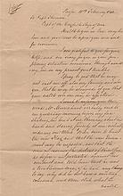 [TAHITI]: A small, interesting collection of manuscript letters relating to Tahiti and Queen Pomare