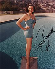 ACTRESSES: Selection of signed 8 x 10 photographs by various film actresses including Jane Russell,