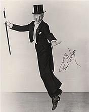 ASTAIRE FRED: (1899-1987) American Dancer & Actor, Academy Award winner. Signed 8 x 10 photograph, a