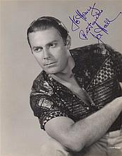 ACTORS: Selection of vintage signed 5 x 7 photographs and a few slightly smaller, 8 x 10s etc., by v