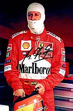 FORMULA ONE: Selection of signed 8 x 10 photographs by various Formula One Motor Racing Drivers, man